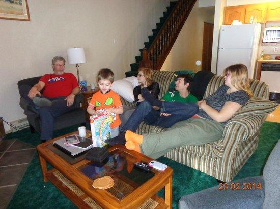 Fairmont Mountainside Vacation Villas : Living Area of our Villa