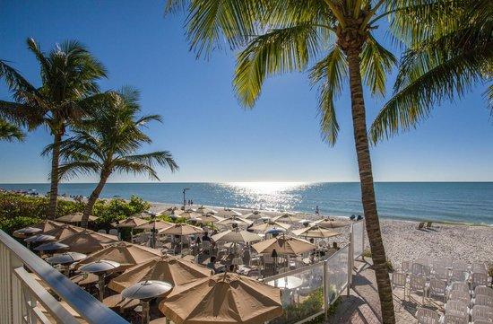 Vanderbilt Beach Resort Overlooking And Gulf Of Mexico