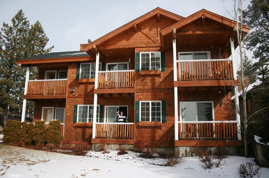 Red Wolf Lakeside Lodge: A view of our unit at RedWolf Lakeside Lodge