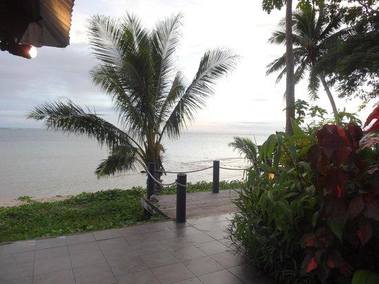 Wellesley Resort Fiji: View from beach bar.