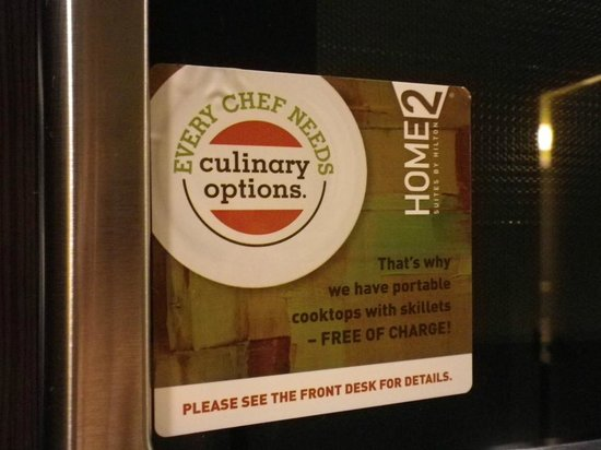 Home2 Suites by Hilton San Antonio Downtown - Riverwalk: The kitchen had all we needed but in case we needed something more ...