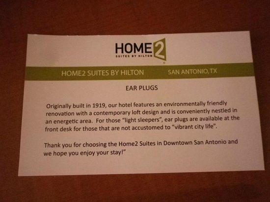 Home2 Suites by Hilton San Antonio Downtown - Riverwalk: Nicely put!