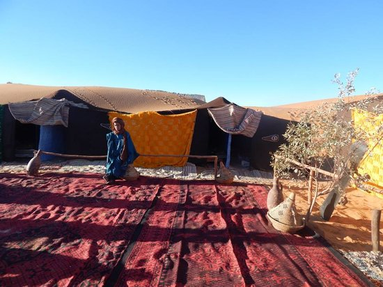 Merzouga Morocco Tours: Night in Camp Merzouga Tours