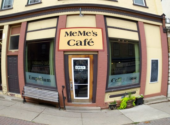 MeMe's Cafe: Meme's ( Fisheye shot)