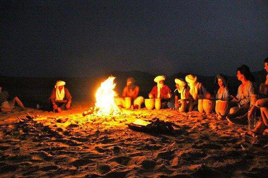 Merzouga Morocco Tours: Night in Camp Merzouga Desert Tours