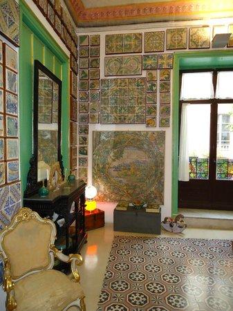 Museum of tiles Stanze al Genio : Sala dei Fiori