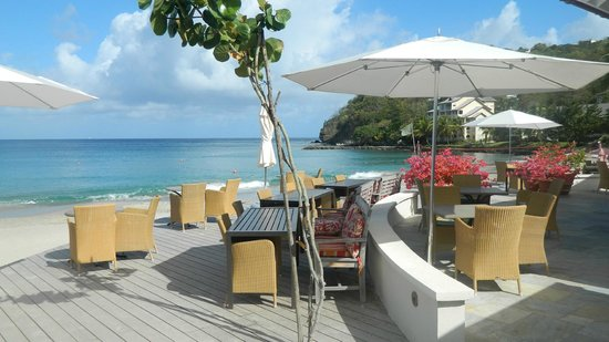 BodyHoliday Saint Lucia: View from Beach Grill