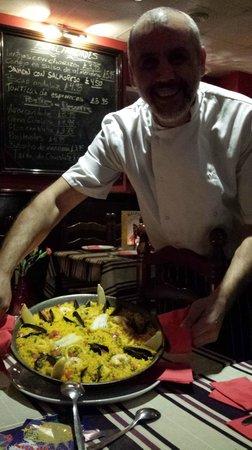 Malaga Tapas : The chef!