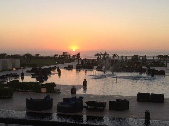 Sofitel Agadir Thalassa Sea & Spa : coucher de soleil