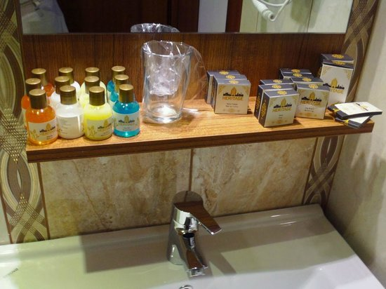 World Heritage Hotel Istanbul: Bathroom toiletries