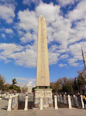 World Heritage Hotel Istanbul: Hippodrome remains