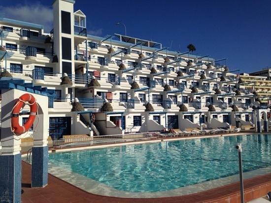 Aquasol Apartments: soleado desde primera hora