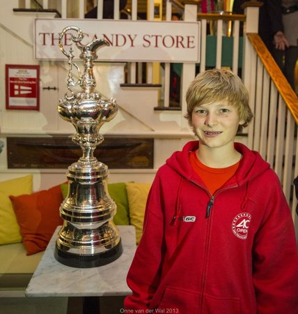 Clarke Cooke House : Adrian van der Wal future Americas Cup sailor and Newport local.