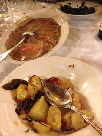 Fonte Alla Vena : arrosto di vitella con patate