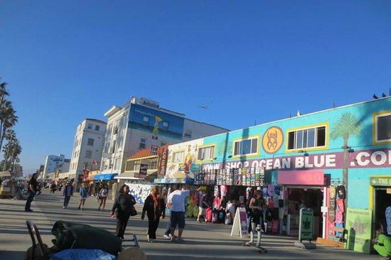 Retail therapy picture of venice beach boardwalk los angeles