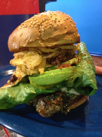 Blue Star Burgers: Awesome Burger