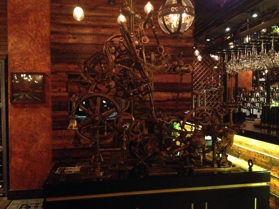 Fazenda Rodizio Bar and Grill: Mechanical corkscrew