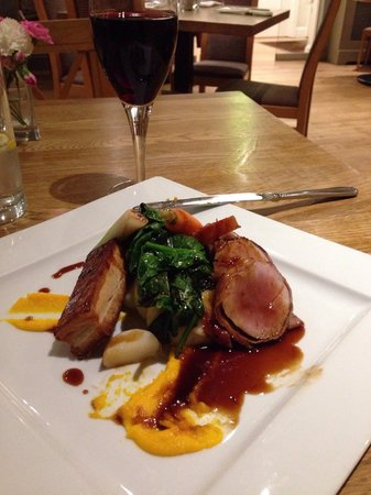 The Clive Restaurant with Rooms: Pork