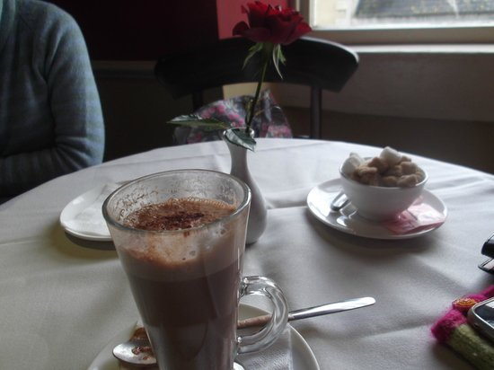 The Regency Tea Rooms : Hot chocolate...