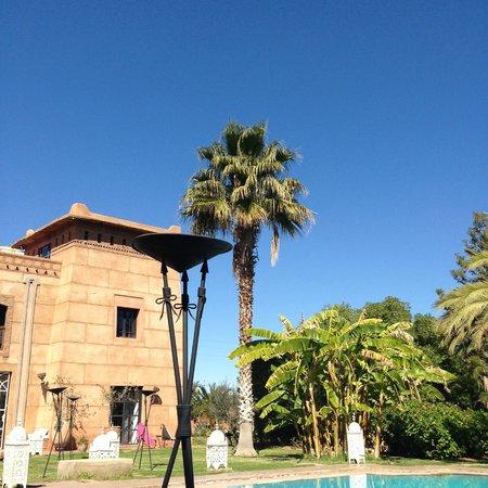 Villa Catherine : vue du transat