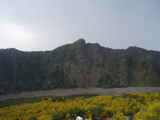 Vesuv: wida jak płyneła lawa:(