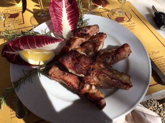 La Cantinetta di Rignana: Rosticciana di porco