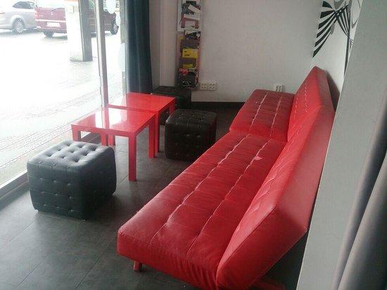Botxo Gallery Youth Hostel : en la sala de meditación