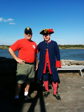 Fort Matanzas National Monument: Spanish Soldier at the Fort