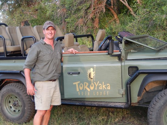 Toro Yaka Bush Lodge : CJ and your Land Rover