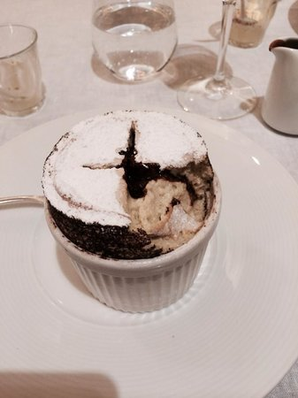 Murano: The 'to die for' pistachio soufflé