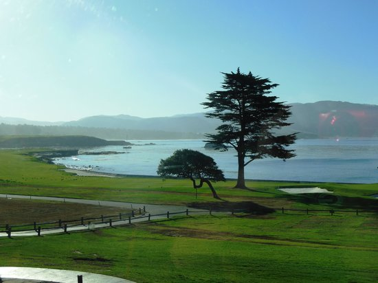 The Lodge at Pebble Beach: Breakfast view every morning at Stillwater Restaurant