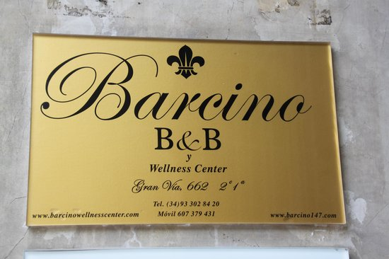 Barcino 147 : Sign at the entrance