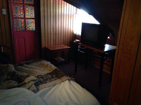 Hotel Unicornio Azul: Habitación