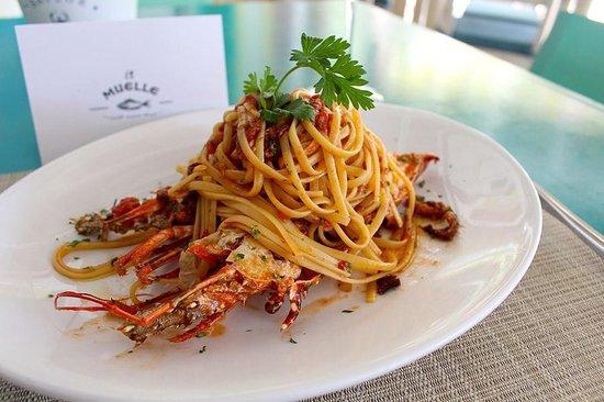 Restaurante El Muelle: Lobster linguini
