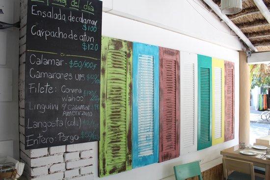 Restaurante El Muelle: Wall