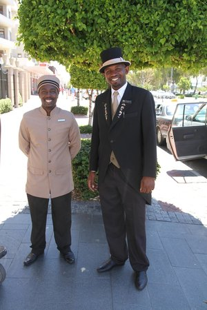 Cape Royale Luxury Hotel: Vriendelijk en behulpzaam personeel