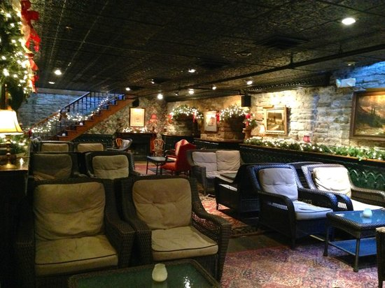 W.A. Frost & Company: The cozy downstairs bar