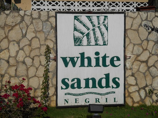 White Sands Negril : sign