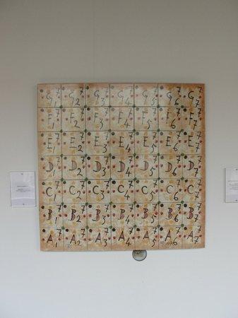 Museu do Azulejos : Algumas peças do Museu