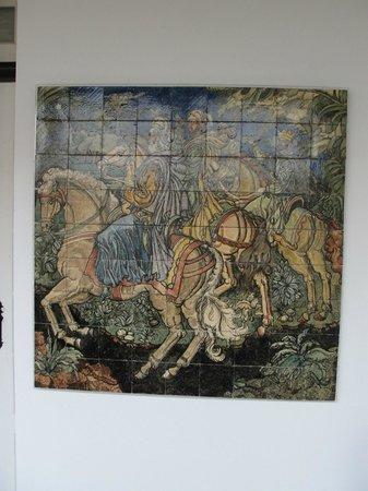 Museu Nacional do Azulejo: Algumas peças do Museu