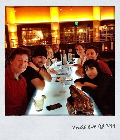 333 Pacific - Steaks & Seafood: xmas time with friends, always  great time @333.