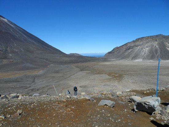 Walking Legends - Tongariro Crossing Guided Day Walk: On a clear day........
