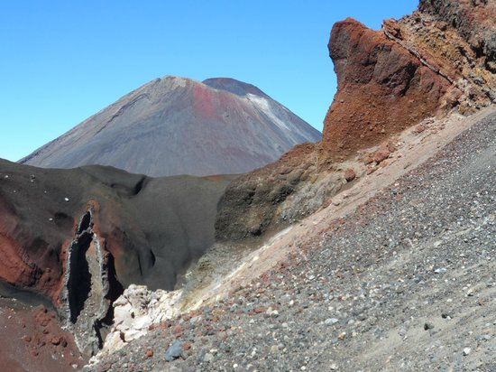 "Walking Legends - Tongariro Crossing Guided Day Walk: ""Mt Doom"" and the Red Crater"