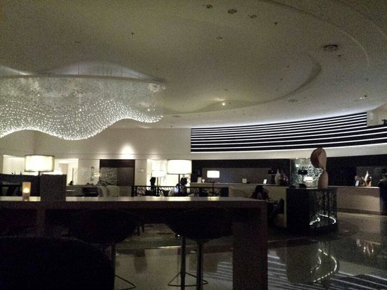 Main Lobby of Hilton Munich Park