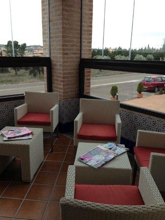 Hotel La Bastida: Terraza