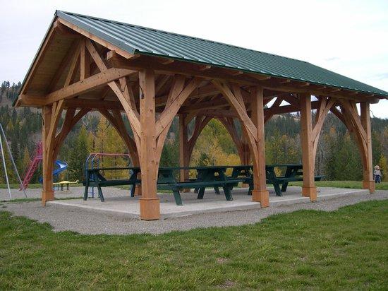 Kimberley Riverside Campground : Picnic Shelter