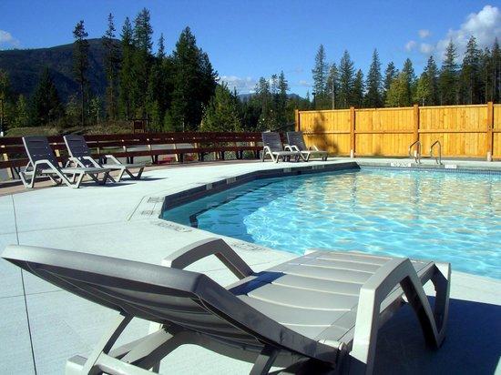 Kimberley Riverside Campground : Pool area