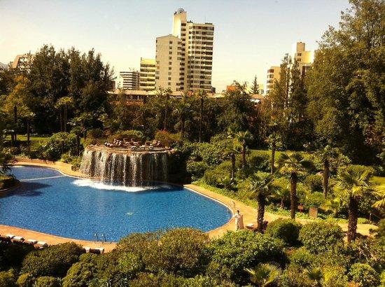 Grand Hyatt Santiago: vista do quarto