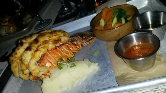 Solana: Caribbean Grilled Lobster