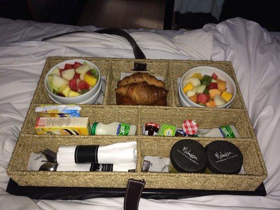 Malmaison Newcastle: Continental breakfast